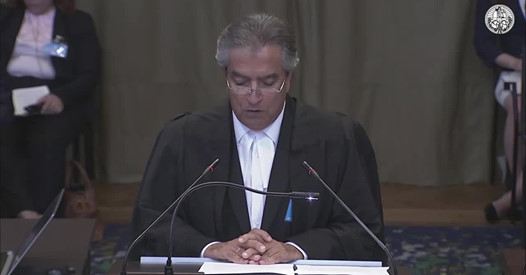 The International Court of Justice (ICJ) holds hearings in the advisory proceedings concerning the L